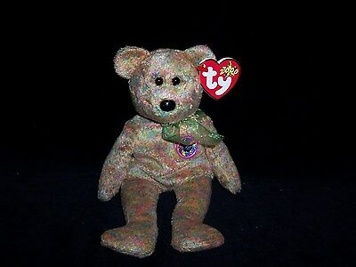 TY Beanie Baby Babies Speckles Bear 2000 MINT Private Collection