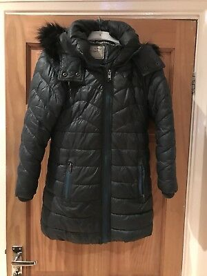 Next, green girls winter coat 9 year old