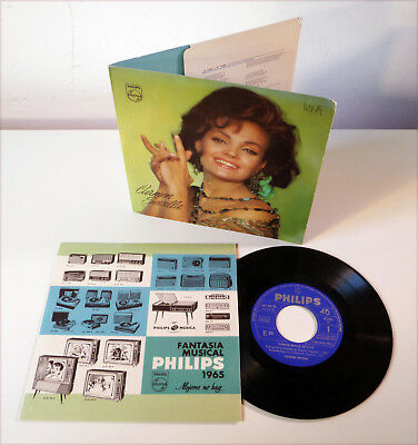 "CARMEN SEVILLA en T.V.E. - rare NM spain fold-out 7"" EP PHILIPS FRIO Promo"
