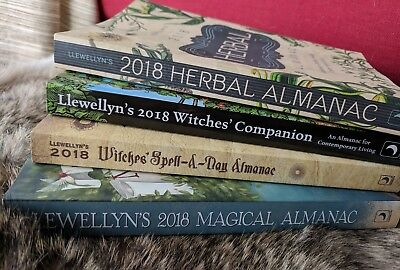 Huge collection of spells witchcraft rituals coven magick llewellyns 2018 almanac herbal spell a day and companion lot witchcraft books fandeluxe Gallery