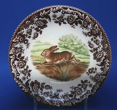 """Spode 6"""" Cereal Bowl RABBIT WOODLAND Made In ENGLAND"""