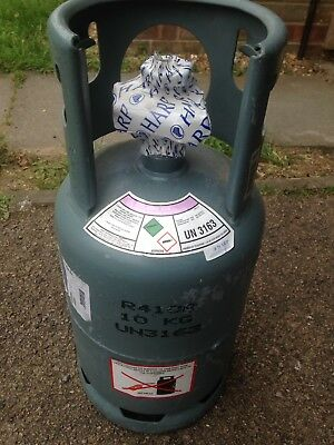 Brand New Sealed Bottle Of R410a Refrigerant