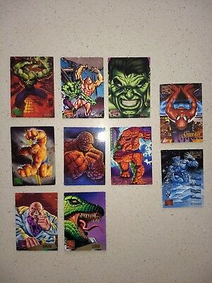 Marvel Masterpiece Trading Cards