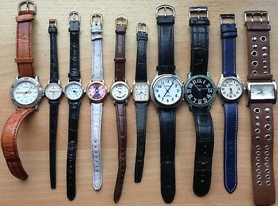 Job lot of Watches For Spares or Repair - Lorus