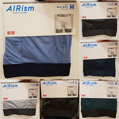 various colors fresh styles shoes for cheap NEW UNIQLO MEN AIRism Boxer Briefs Underwear innerwear 409007 Free Shipping