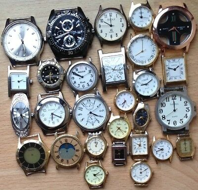 Job lot of Watches For Spares or Repair - Citron