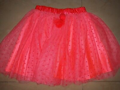 Girls Billieblush bright Pink Tulle Frill spotty Party Skirt Age 8 years BNwT