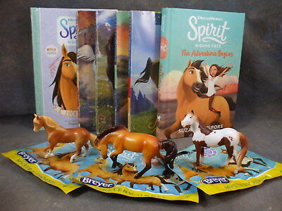 *SPIRIT: Riding Free* BOOK & Stablemate GIFT LOT! 6 Books + Blindbag SMs! NEW!