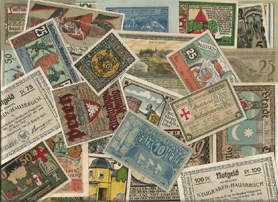 Germany NOTGELD - Lot of 100 Notes ------ 1