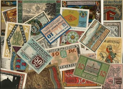 Germany NOTGELD - Lot of 100 Notes ------ 2