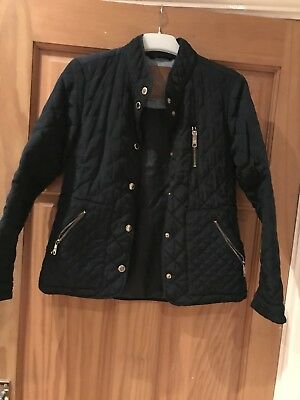 9-10y Girls Zara quilted jacket