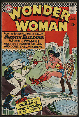 Wonder Woman #162 1966 Great Cover!