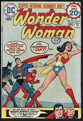 Wonder Woman #212 1974 With White Pages!