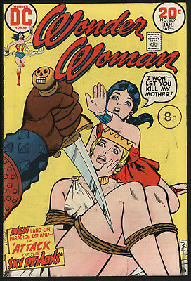 Wonder Woman #209 1974 With White Pages!