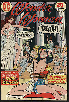 Wonder Woman #207 1973 With White Pages!