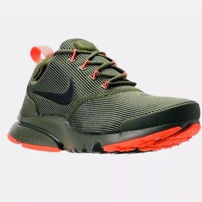 sneakers for cheap 4ae5c c2ad7 NIKE PRESTO FLY (Gs) Womens Boys Size 5.5 Eur 36 (913966 203) Medium Olive  Green