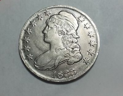 1833 Capped Bust Half Dollar Great For The Set