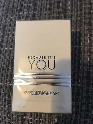 Emporio Armani because It's You EDP 50ml Brand New In Packaging