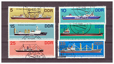 Briefmarken - DDR - Michel-Nr. 2709 - 2714