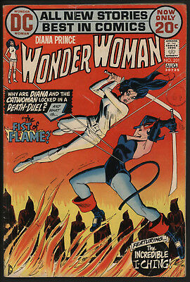 Wonder Woman #201 1972 With White Pages!