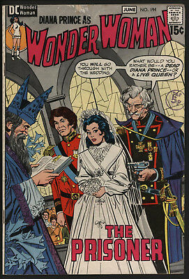 Wonder Woman #194 1971 The Classic Cover!