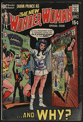 Wonder Woman #191 1970 The Classic Cover!
