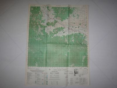 Vietnam War Color Pictomap BINH KHE Sheet 6736 I Series L7014 As Of Year 1965