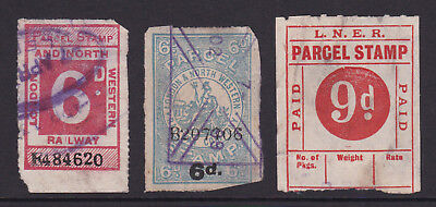 Gb. Railway Parcel Stamps. Spacefillers.