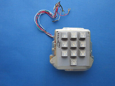 Western Electric 25W3 10 Button Dial R8Nj-70