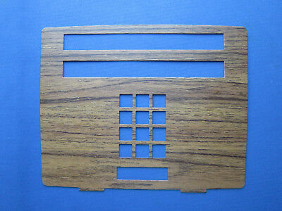 Western Electric 20 Button Touchtone Teak Faceplate