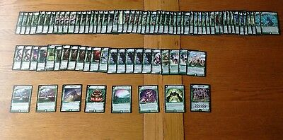 Duel Masters Trading cards joblot bundle Green Earth