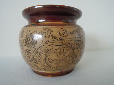 19th Century Doulton Lambeth Decorative Vase