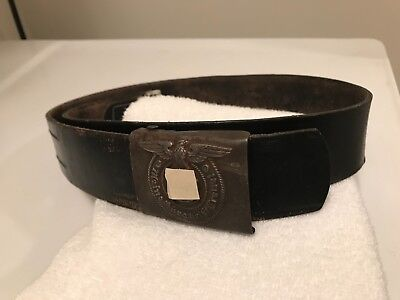 WW2 German Buckle with belt (repro)
