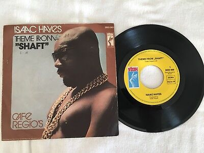 "Single Isaac Hayes: ""Shaft"".  Sehr gut."