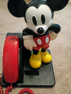 Vintage Mickey Mouse Disney Telephone