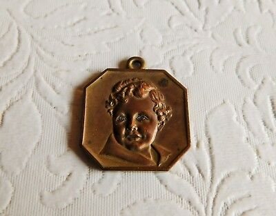 Awesome! 1934 Chicago World's Fair Sears Baby Competition Medal !!