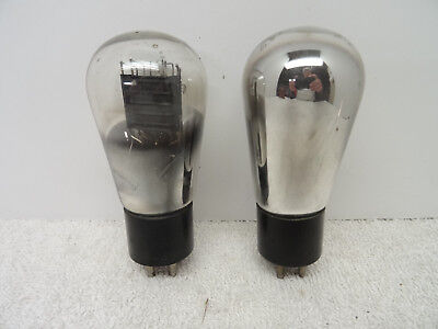 Majestic G-45 Radio Vacuum Amplifier Tube -Pair x2 45 245 Globe Audio Amplifier