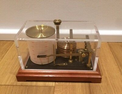 Präzisions Barograph G. Lufft Type 8009 mbar
