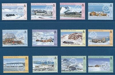British Antarctic Territory 330-41 2003  Bases/Postmarks definitive set VF NH