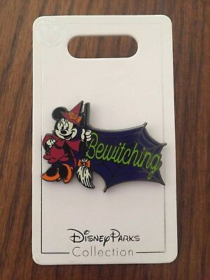 """Disney Parks Collection """"Bewitching"""" Minnie Mouse Halloween Pin, 2018, BRAND NEW"""