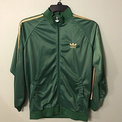 adidas Men's ClimaWarm Full Zip Jacket Size Large -See Pics For Small Defect