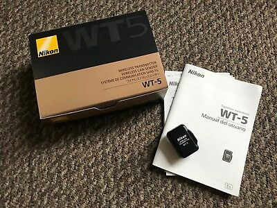 Nikon WT-5 wt-5 Wireless LAN Transmitter for Nikon D4 /D4s Used Excellent Japan
