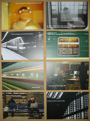 KEANE Night Train set of 8 US promo postcards MINT