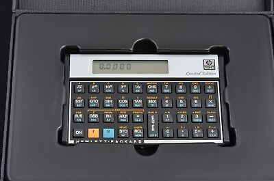 Hp 15c limited edition thecalculatorstore.