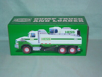 Hess Toy Dump Truck And Loader 2017 New In Original Box Never Opened