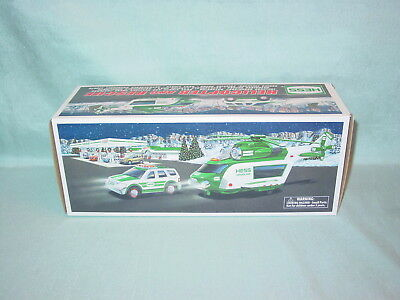 Hess Toy Helicopter And Rescue 2012  New In The Original Box