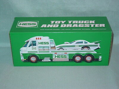 Hess Toy Truck And Dragster 2016 New In The Orignal Box Never Opened