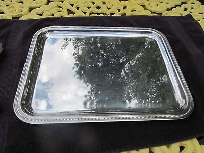 Vintage Christofle France Silverplate Tray