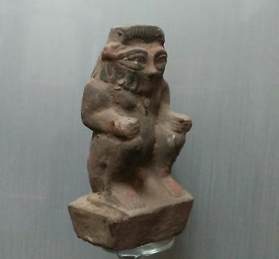 ANCIENT ANTIQUE Egyptian Stone BES (1500–300 BC