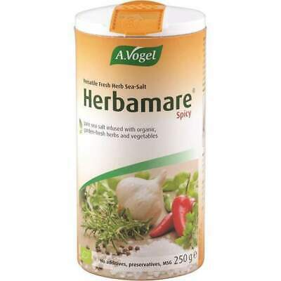 A Vogel Certified Organic Spicy Herbamare 250g Herbal Salt Seasoning